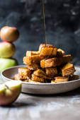 Apple butter cinnamon french toast sticks 1