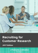 Recruiting for customer research   2017   google slides