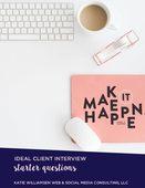 Ideal client interview