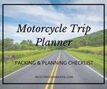 Motorcycle trip planner