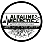 Alkaline eclectic society logo badge small