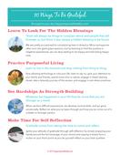 10 ways to be grateful