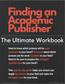 Finding an academic publiser the ultimate workbook ad image