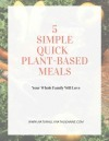 5 simple quick meals 1 pic