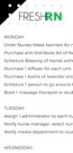 Ideas for nurses week
