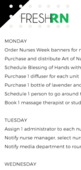 Ideas for nurses week