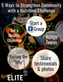 5 ways to strengthen community with a nutrition challenge