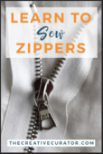 Learn to sew zippers convertkit