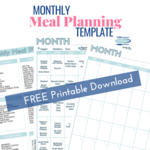 Monthly meal planning template optin pic