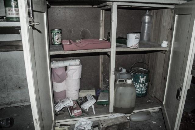 Cupboard contents