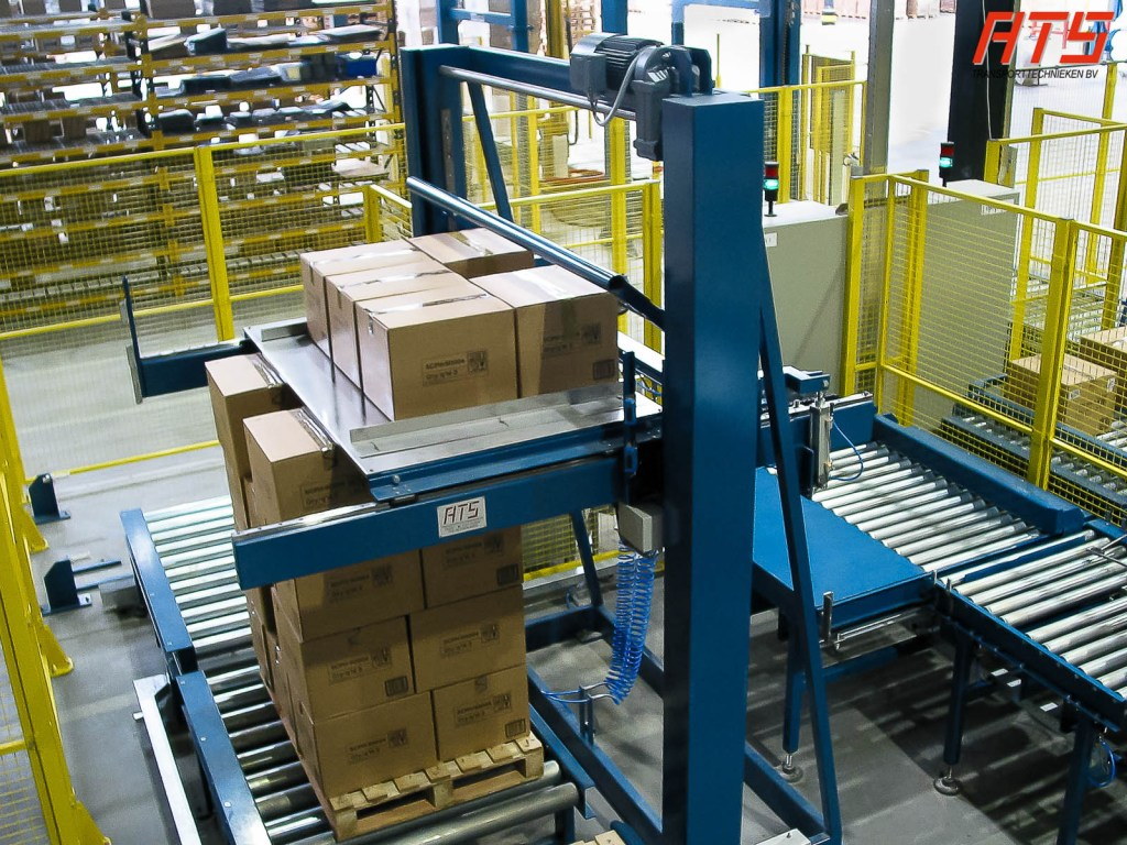 Conventional palletiser
