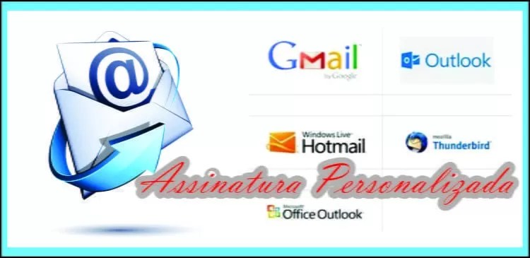 Assinatura de e-mail personalizada