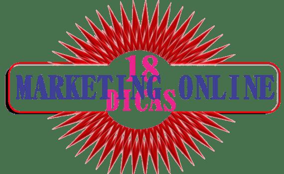 Marketing online 18 dicas