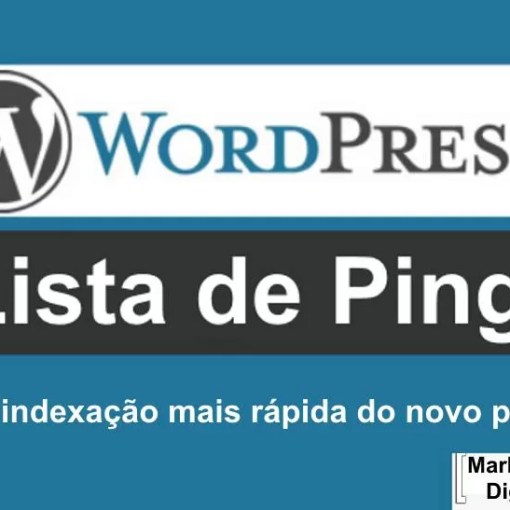 Lista de Ping do Wordpress