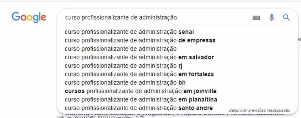 Anunciar curso profissionalizante busca google-2