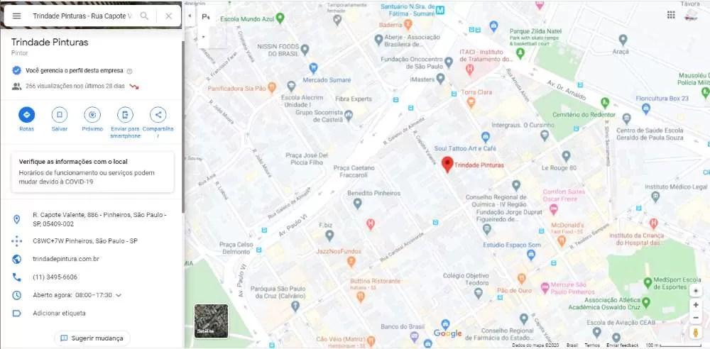 novo recorde no Google Maps