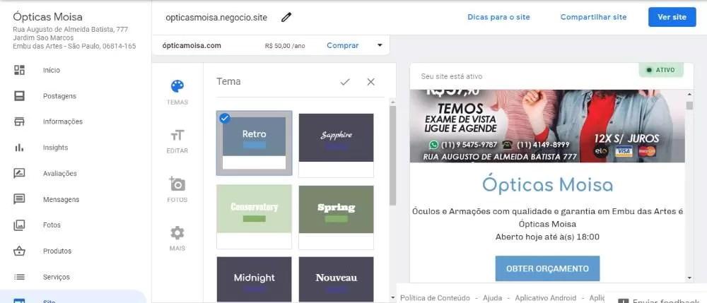 google-meu-negocio-painel-site-google