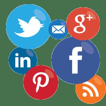 Anúncio de venda nos perfis de redes sociais