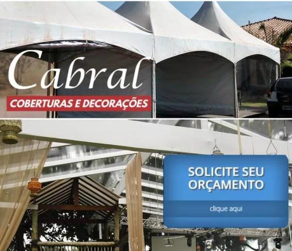 Cabral coberturas e decorações para eventos