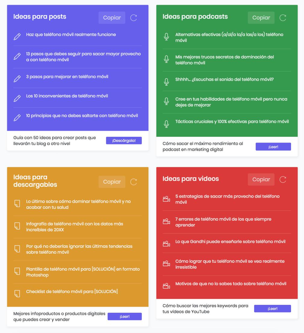 Más Titulares: herramienta gratis de títulos y contenidos para redes sociales en español