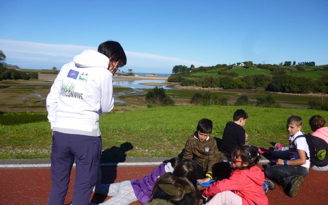 Seguimos con los talleres CoEduca Natura. Ahora en la costa Occidental.