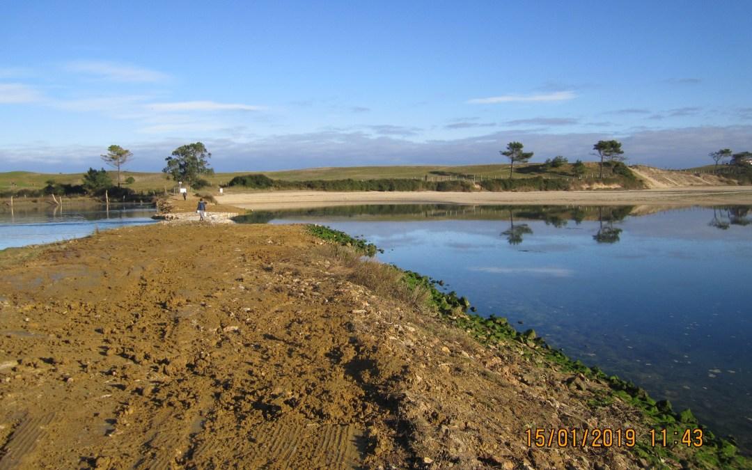 Restaurada la hidrodinámica natural de la ría del Capitán