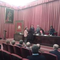 Premio a la mejor nota de acceso para Mª del Valle Romero Leal. Facultad de Química (Universidad de Sevilla)