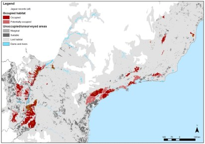 mapa jaguar occupation