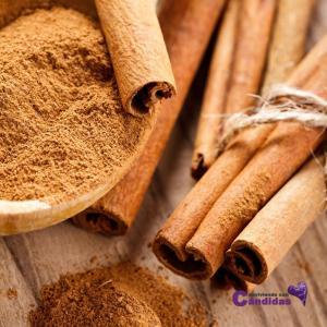 Canela edulcorante natural sustitutos del azucar para candidiasis