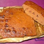 Desayuno anti-candidiasis con bizcocho de trigo sarraceno, sin levadura ni masa madre, ni azúcar, ni leche.
