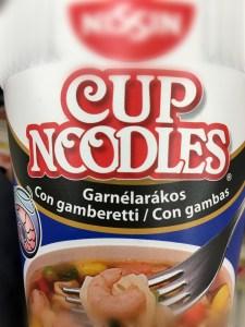 イタリアカップ麺