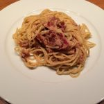 ローマの美味しいアマトリチャーナとカルボナーラのレストラン