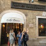ローマで最古のカフェ!アンティコ・カフェ・グレコ