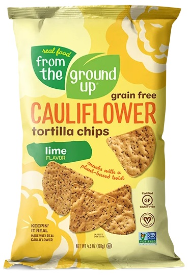 Real Food From the Ground Up Tortilla Chips