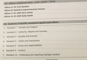 Complaints against North Wales Police