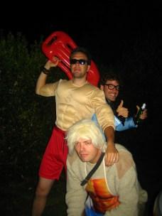 Rob, Koen en Dimitri