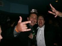 Sheldon and Dimitri Party hard!