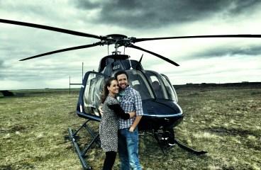 Een helikopter vlucht maken