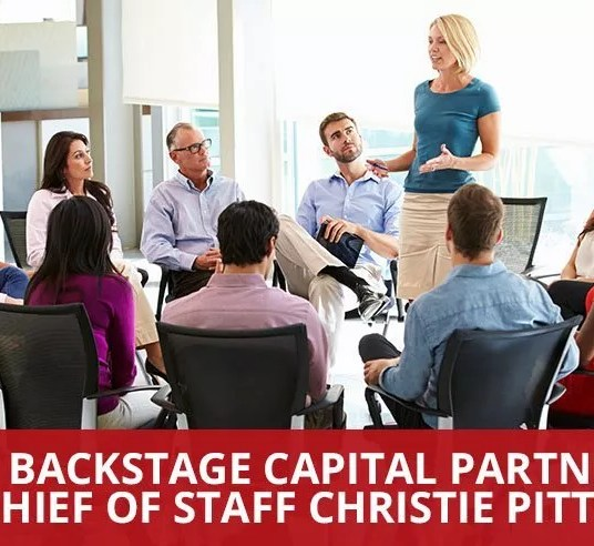 Ep. 23 - Backstage Capital Partner and Chief of Staff Christie Pitts