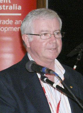 Ian O'Loan Chairman RDSA