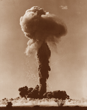 Totem 1 was the first of 12 atomic bombs to be detonated in South Australian from 1953 - 1967