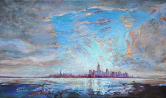 Dutch light on Manhattan