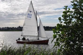 Coob Zeeman op de Friese meren
