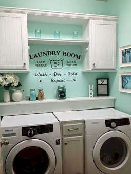 Genius Laundry Room Storage Organization Ideas 23