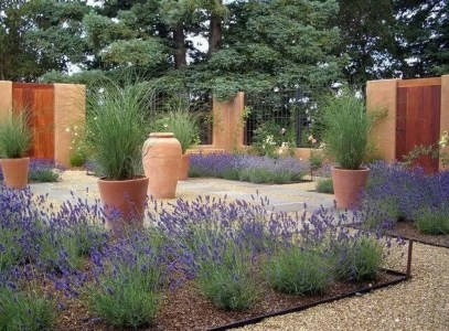 Gorgeous Front Yard Courtyard Landscaping Ideas 06