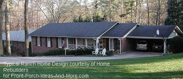 Great Front Porch Addition Ranch Remodeling Ideas 11