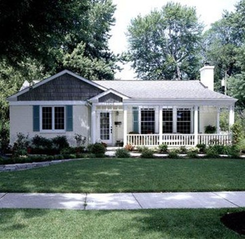 Great Front Porch Addition Ranch Remodeling Ideas 31