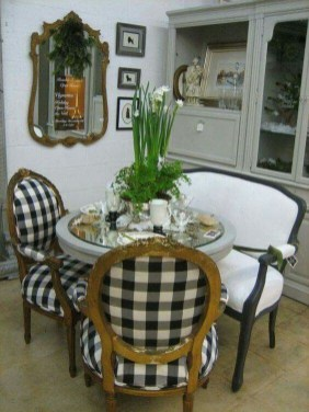 Incredible Fancy French Country Dining Room Design Ideas 09