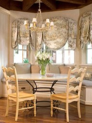 Incredible Fancy French Country Dining Room Design Ideas 29