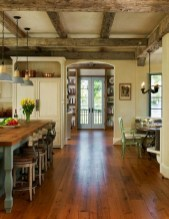 Incredible Fancy French Country Dining Room Design Ideas 45